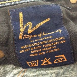 Citizens Of Humanity Jeans - Citizens Of Humanity Kelly #001 Low Waist Bootcut
